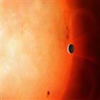 행성,대기,형성,관측