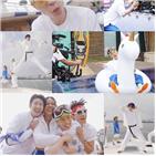 유두,여름,뮤직비디오,싹쓰리,촬영