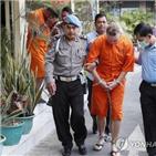 마약,마약사범,인도네시아,사형,집행,체포,선고,사형선고