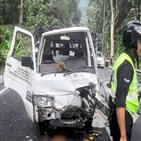 두리안,말레이시아,중국,운전사,사고,머리