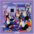 위클리,기록,데뷔,음반,걸그룹,오디오