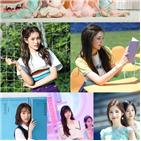 데뷔,위클리,공개,걸그룹