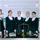 여자친구,앨범,마녀,모습,퍼포먼스,타이틀곡,시간,공개