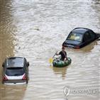 중국,제방,홍수,창장,피해,투입,수위,양호,작업