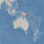 지진,파푸아뉴기니