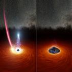 블랙홀,코로나,관측,자기력선,1ES