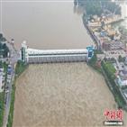 수위,안후이성,오전,홍수,당국,양쯔강