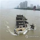 홍수,수위,창장,중국,8시,유역
