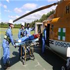 헬기,포스코,응급환자,이송,전문병원