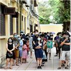 베트남,확진,코로나19,지난달,감염,지역사회