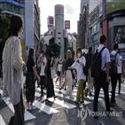 코로나19,일본,1천,확진,오봉,이날,신규