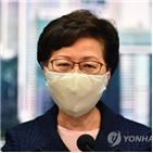 미국,홍콩,중국,제재,홍콩정부,연락판공실