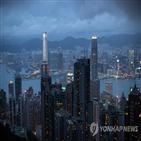 홍콩,미국,제재,금융,요구,중국,기관,은행