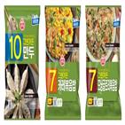그린가든,채소,만두