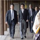 참배,아베,총리,야스쿠니신사,일본,공물,상황,중국,올해