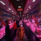중국,가격,돼지고기,달걀,소비자