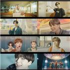 방탄소년단,뮤직비디오,분위기,모습,퍼포먼스