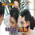 정형돈,목표,몸무게,김용만
