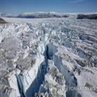 얼음,빙하,빙상,세계,해수면