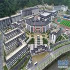 학교,전안현,호화,중국,1천200억