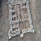 이스라엘,요새,민족,고대,발견