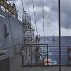 대만,대만해협,중국군,중국,군함