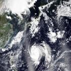 초속,일본,풍속,하이선,최대,기상청,중심