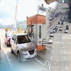추석,통행료,고속도로,이동,정부