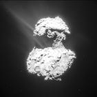 혜성,오로라,원자외선,67P,전자,보이,지구