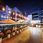 호텔,도심,루프탑,명절,연휴,서울