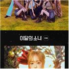 소녀,이달,미드나잇,콘셉트,포토