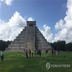 멕시코,유적지,관광객,코로나19