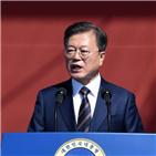 대통령,김정은,북한,언급,국민,기념사