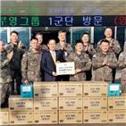 장병,부영그룹,육군,위해,군부대,위문품,전달