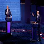 후보,바이든,트럼프,대통령,코로나19,입장,무대