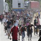 미국,코로나19,이민자,과테말라,국경,온두라스,캐러밴