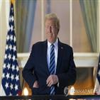 트럼프,백악관,대통령,관저,직원,코로나19,미국,권고