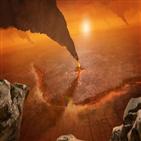 금성,지구,암석,충돌