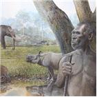 멸종,동물,대형,사람,열대우림,포유류,환경