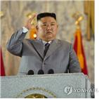 북한,정부,입장,위원장,신형,열병식,연설,조성,공개,분석