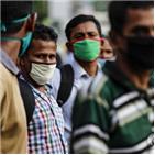 확진,인도,누적,감염자,700만