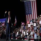 트럼프,대통령,유세,코로나19,마스크,플로리다,대선,바이든,연설