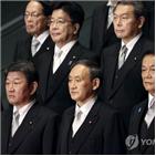 스가,정권,일본,총리,아베,정책,한국,역사,문제,대응