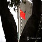 중국,미국,체포,경고,금지