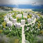 홈즈컴퍼니,홈즈타운,프로젝트,발전,마을,부지