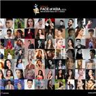 아시아,패션모델,오브,모델,페이스,컨텐츠,영상