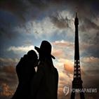 에펠탑,파리,코로나19,수준