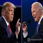대통령,바이든,트럼프,후보,자신,북한,미국,문제,토론,충돌