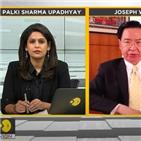 중국,인도,대만,주권,인터뷰,샤르마