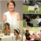 웨딩드레스,배우,공개